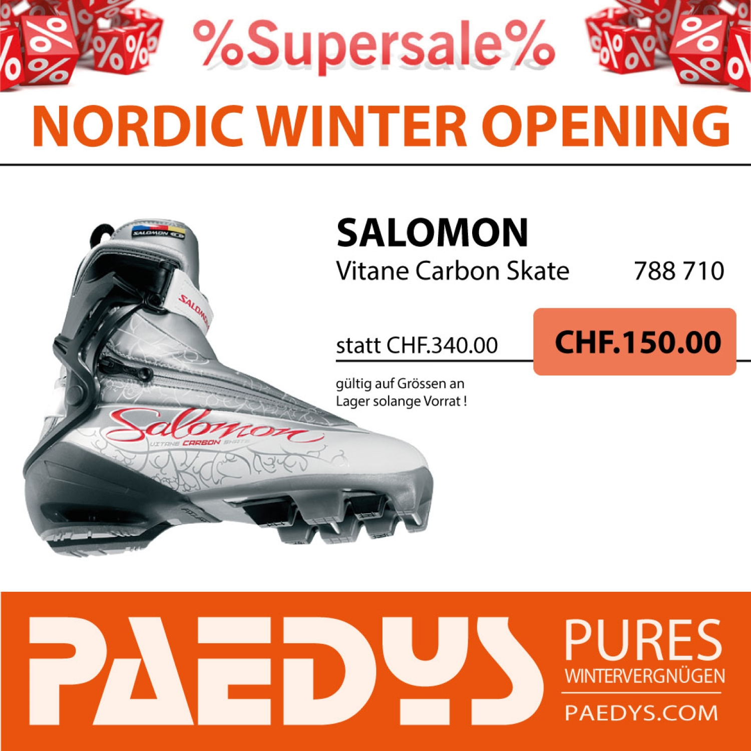 SALOMON Vitane Carbon Skate